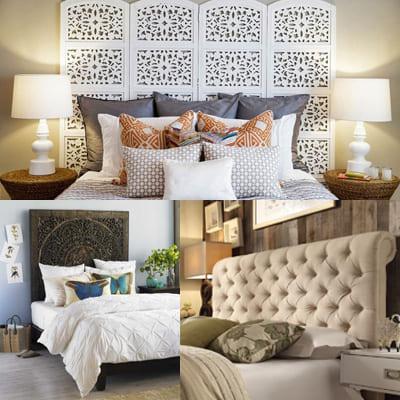 4 оригинальных изголовья, которые украсят вашу спальню самым наилучшим образом.